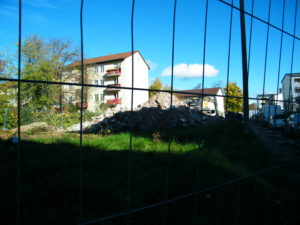 Abriss Murrhardter Straße in Zuff.-Rot